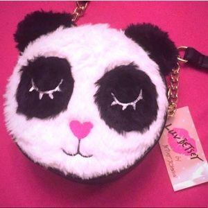 🆕 🐼Betsey Johnson Panda Bear Crossbody Bag🐼